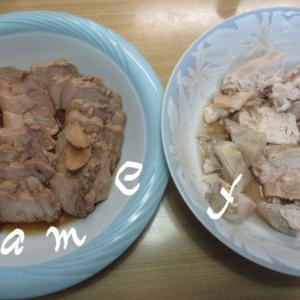 炊飯器の低温調理で豚チャーシューと蒸し鶏を一度に作る!メニュー公開