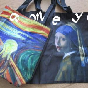 エコバッグをお得にゲット!値上げの春と家計の苦境をアートで癒やす