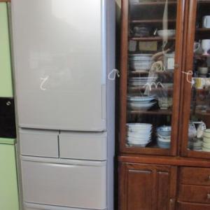 シャープ冷蔵庫がわが家に♪古い家電を自分で指定引き取り場所へ運ぶメリット