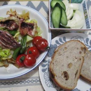 ぬか漬け生活の朝ごはんとランチ・晩ごはん♪野菜を美味しく