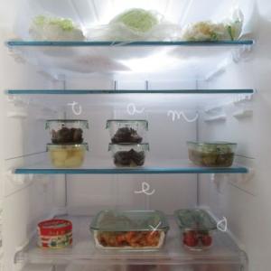 イワキの耐熱ガラス保存容器7点セットで冷蔵庫が「見える化」