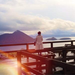 北海道☆洞爺湖で出会った弁天様と龍脈