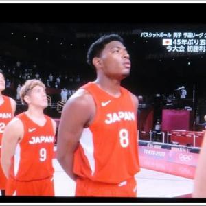 バスケ男子🏀 日本 vs スロべニア
