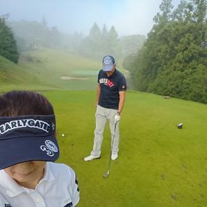 ラウンド・久しぶりのゴルフ日和