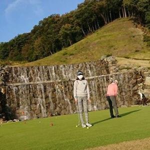 お初のゴルフ場を楽しみました~♪