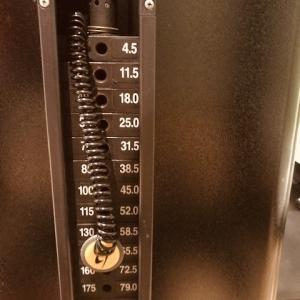 9/17(木)、トレミ→スクワット150kg。