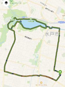 勝田全国オンラインマラソンエントリーの理由とジョグ16km。