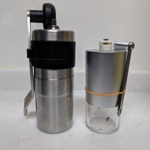 コーヒーミルの小型化