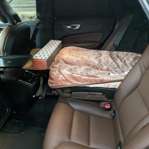 SUVキャンパーへの軌跡⑥ 車中の寝床