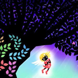 No.256:月明かりに照らされた大樹の花
