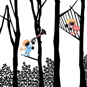 No.271:虹かかる光の森
