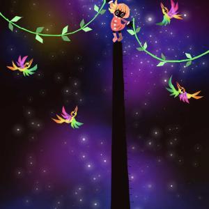 No.275:星空を花で飾ってみよう