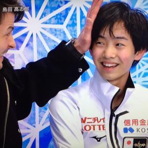 NHK杯ショートプログラム
