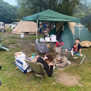 夏休み最後はキャンプで遊ぼう その①