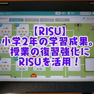 【RISU】小学2年の学習成果。授業の復習強化にRISUを活用!