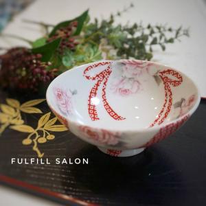 還暦祝いのプレゼントもポーセラーツで♪世界で1つの艶やかで美しいお茶碗!