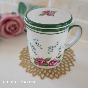 探しても売っていないモノをプレゼントできるポーセラーツ♡転写紙&絵の具で作ったマグカップ♡