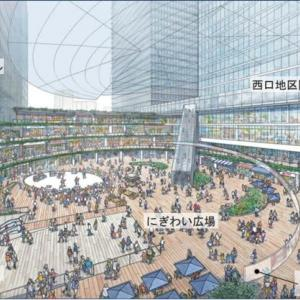 品川駅西口(高輪口)の再開発計画
