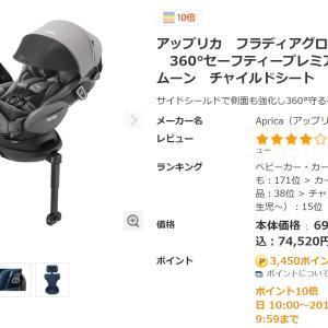 【34W4D】ベビーザらス購入品