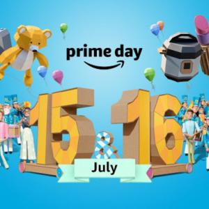 【34W5D~6D】Amazon Prime day購入品