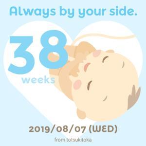 【妊娠38週】健診そして内診の結果は…