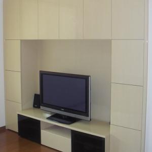 web内覧会 収納力抜群!一条工務店のオリジナルテレビボード