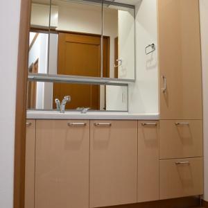 Web内覧会★洗面室と広々使える洗面化粧台