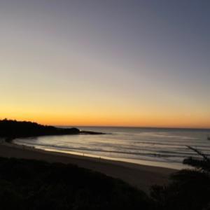 朝の散歩@Fresh water beach to Manly