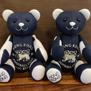Football bear と 制服ベア