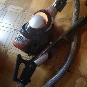クリンネストを目指して!まずは掃除機の掃除