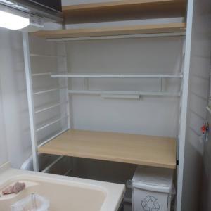 【整理収納作業】キッチン極狭デットスペースを活かすゴミ箱収納ラック!