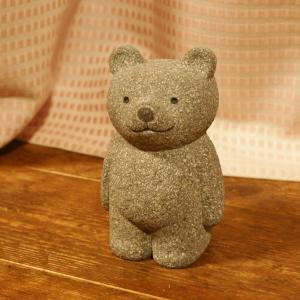 高橋健太郎さんの石の「立ちくまさん」出来上がっています。新しいホームページ。