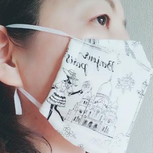 ひんやり保冷剤付き夏マスク購入しました!