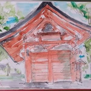 八幡神社仁王門