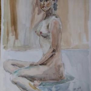 裸婦と着衣