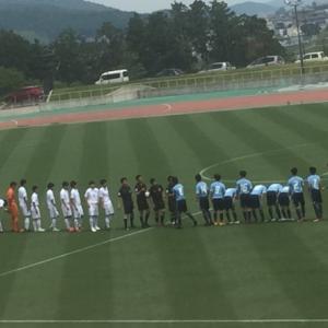 高校サッカー県大会 決勝戦