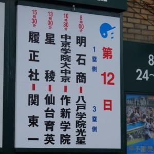 2019高校野球 夏の甲子園④第12日