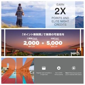 2021年1Qホテルキャンペーンまとめ(マリオット、IHG、ヒルトン)