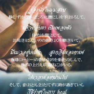 タイ日翻訳 แมว 猫