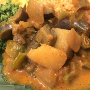 7種類の野菜カリー Hath Maaluwa @ シャンティランカ Shanthi Lanka (宝塚市)