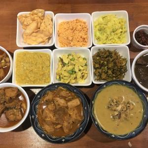 おまかせパーティーメニュー @ アリヤ ALIYA Sri Lankan Restaurant & Bar (大阪市福島区)