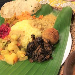 じゃが芋、人参、ブロッコリー、プチトマトのキラタ @ シャンティランカ Shanthi Lanka (宝塚市)