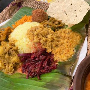 蓮根のバドゥマ Nelum Ala Baduma @ シャンティランカ Shanthi Lanka (宝塚市)