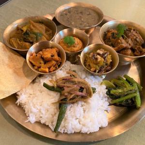 榧の実と安納芋のアチャール @ ネパールのごちそう jujudhau ズーズーダゥ (池田市)