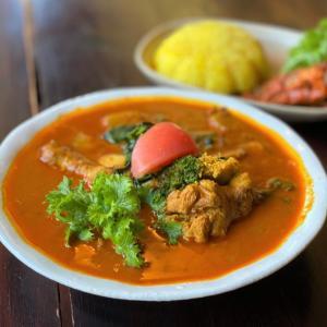チキンスープカリー @ few インド&ネパール料理レストラン (川西市)