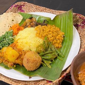 パセリのサンボーラ @ シャンティランカ Shanthi Lanka (宝塚市)
