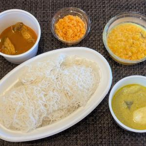 インディアーッパのテイクアウト @ スリランカ restaurant SRI LANKA (大阪市中央区)
