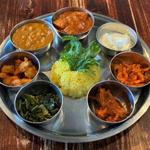 ベジダルバート その2 @ few インド&ネパール料理レストラン (川西市)