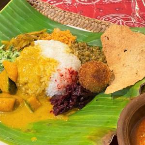 セロリと煮干しのテルダーラ @ シャンティランカ Shanthi Lanka (宝塚市)