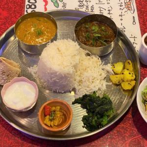 ダルバート @ ネパール&インド料理 グラース GURANS (大阪市西区)
